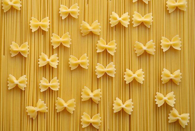 carboidrati della pasta