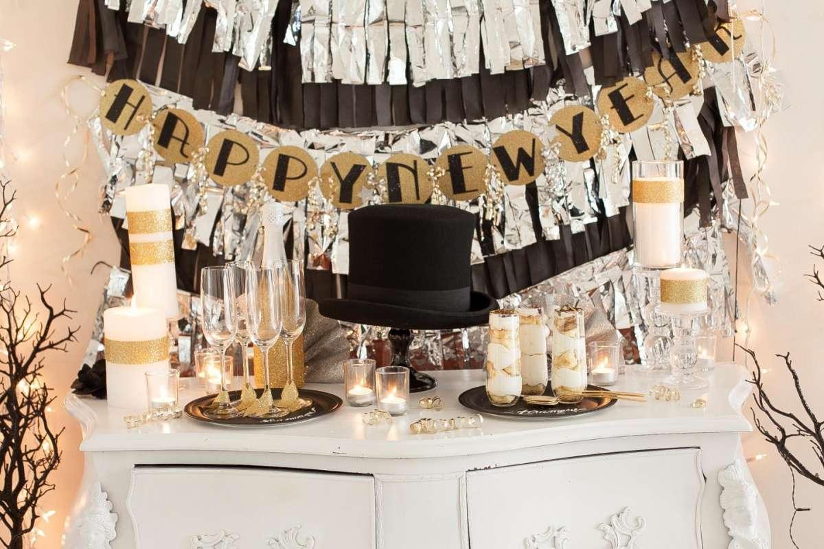 Decorazioni Sala Capodanno : Come arredare casa per capodanno tante soluzioni originali foto