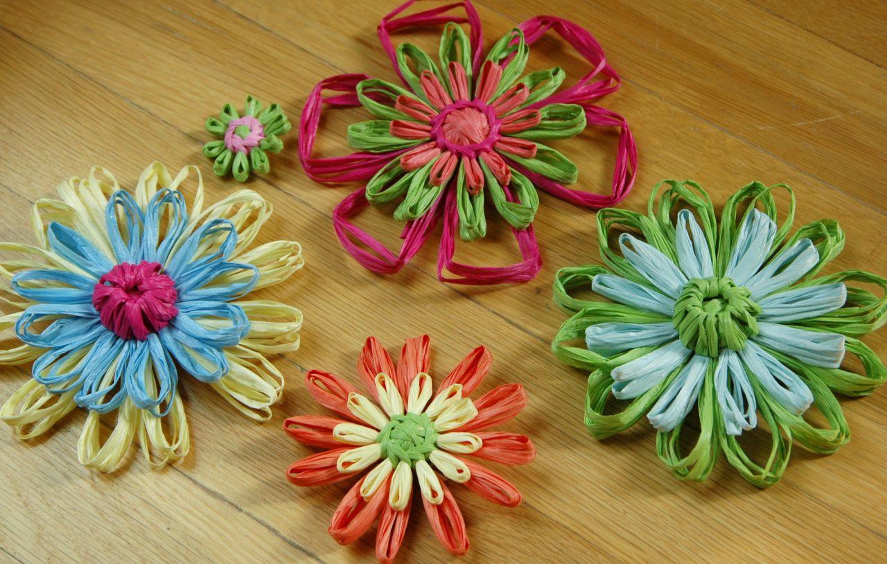 fiori di rafia