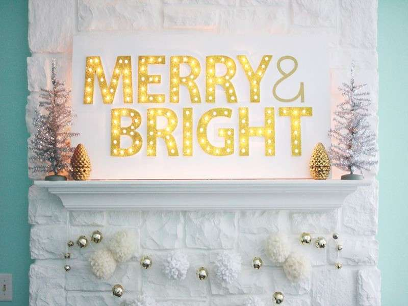 Luci di Natale fai da te per addobbi originali [FOTO]