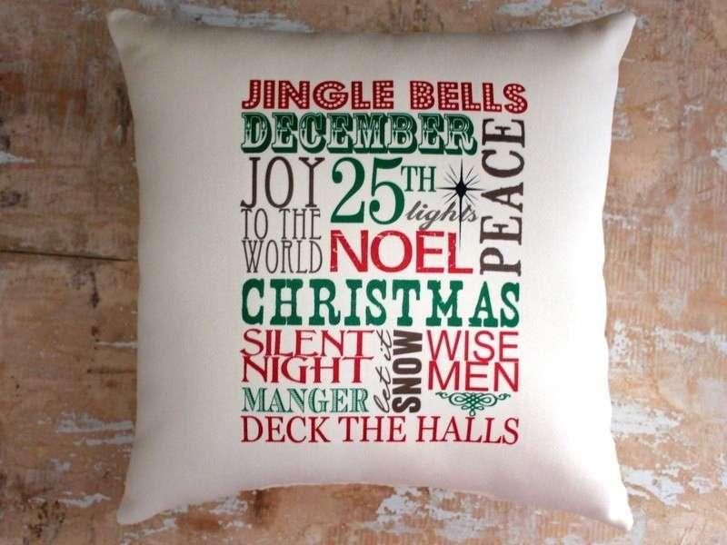 Cuscini natalizi: le idee creative più belle [FOTO]