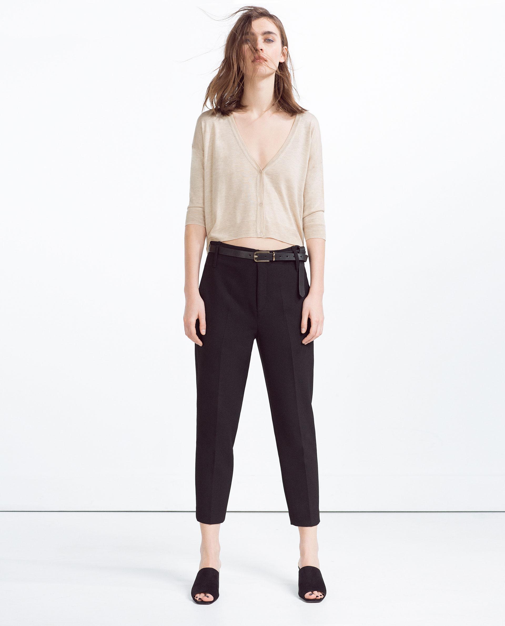 Pantaloni con le pinces