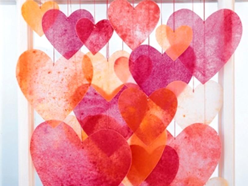 Quale decorazione romantica per San Valentino preferisci?