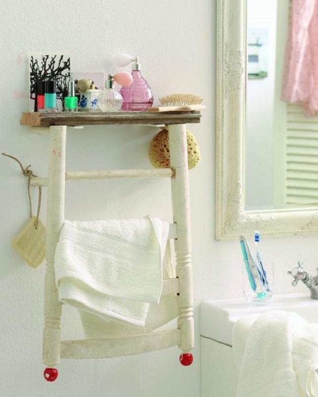 8 idee per arredare il bagno con il fai da te pourfemme - Tinteggiare il bagno ...