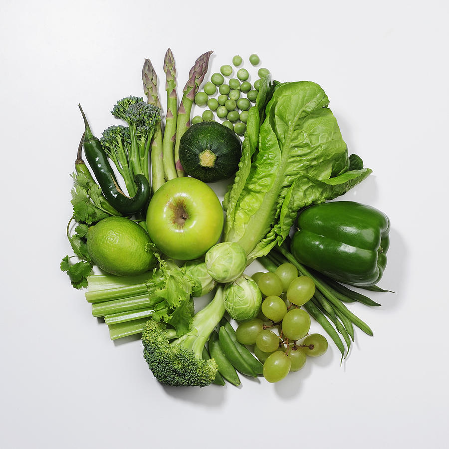 Verdura foglie verdi