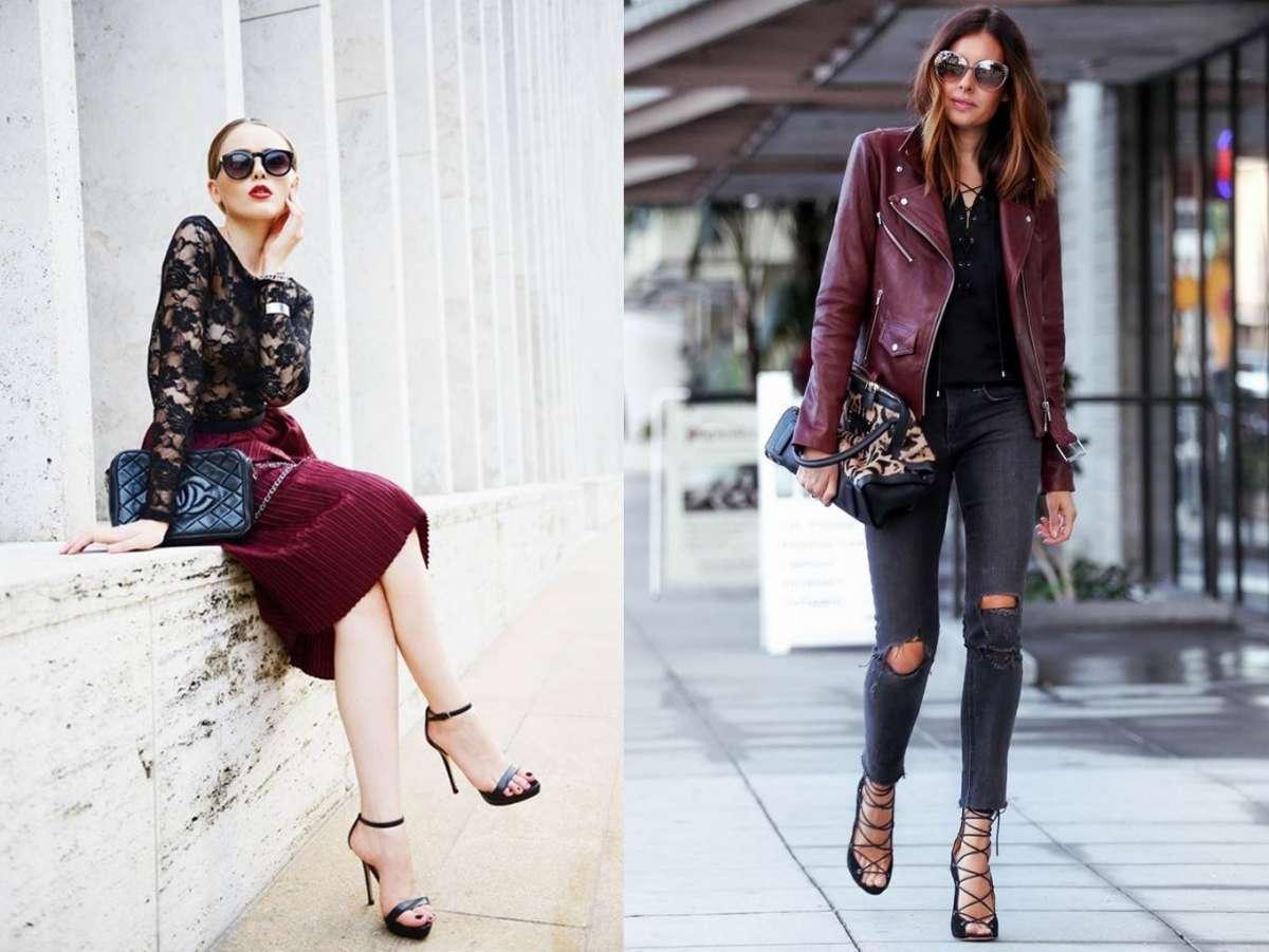 Come abbinare il bordeaux: consigli per look sempre fashion [FOTO]