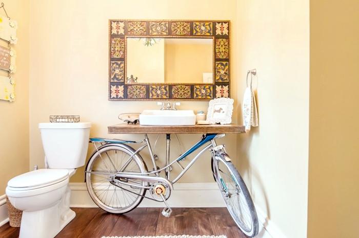 8 idee per arredare il bagno con il fai da te tempo for Arredare bagno fai da te