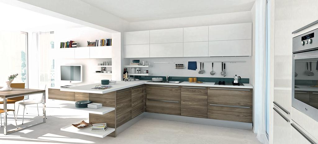 cucine open space soggiorno