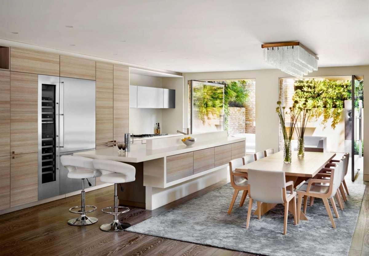 cucina open space per arredare i grandi spazi dedicati