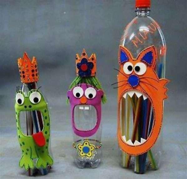 Lavoretti di carnevale con le bottiglie di plastica: idee fai da te di riciclo creativo[FOTO]
