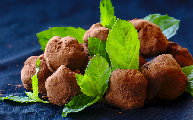 tartufi cacao