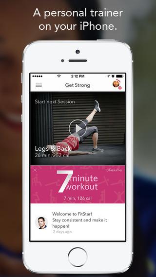 FitStar app 1