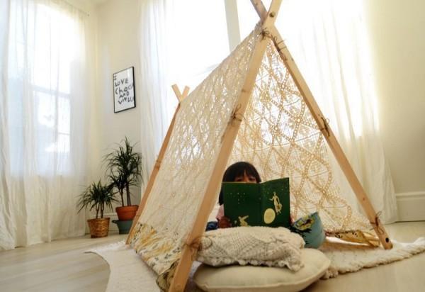 Tende Indiane Per Bambini Le Piu Belle Fai Da Te E Non Solo Foto
