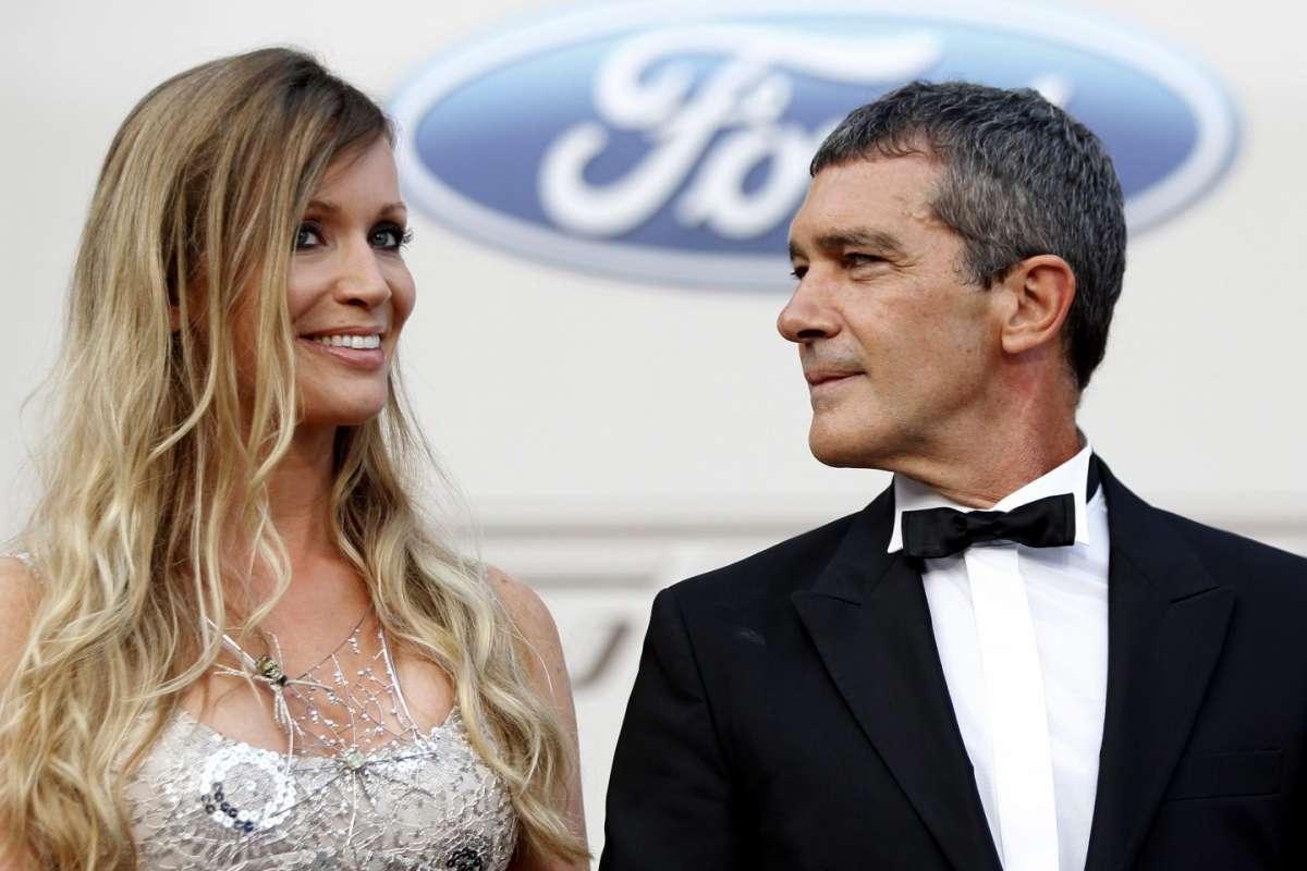 Antonio Banderas e Nicole Kimpel