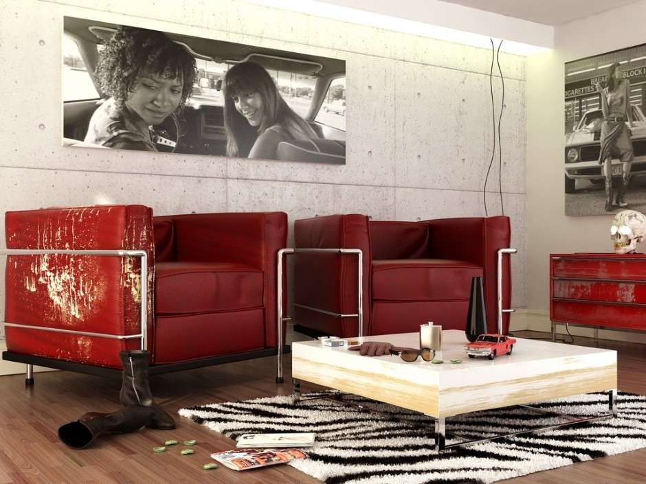 Arredare la casa in stile rock per interni giovani e for Casa interni