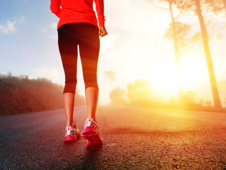 jogging mattina