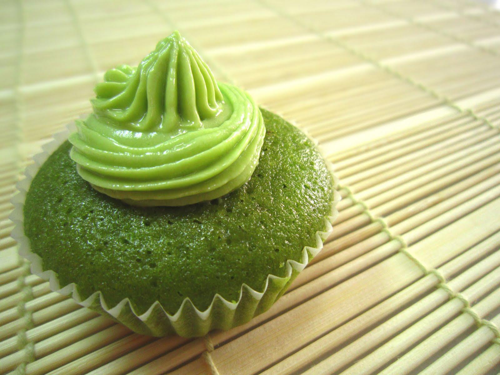 mactha cupcake