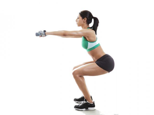 squat ginocchia