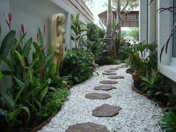 Idee Per Il Giardino Di Casa : 8 idee per realizzare il vialetto di casa pourfemme