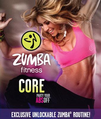zumba core fitness