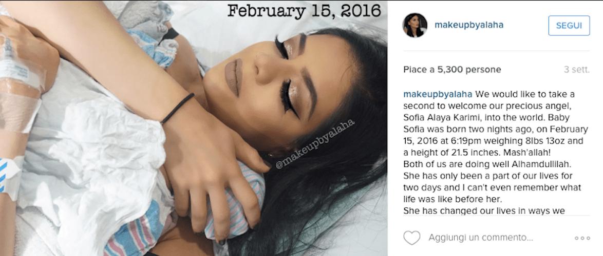 Il make up perfetto della beauty blogger
