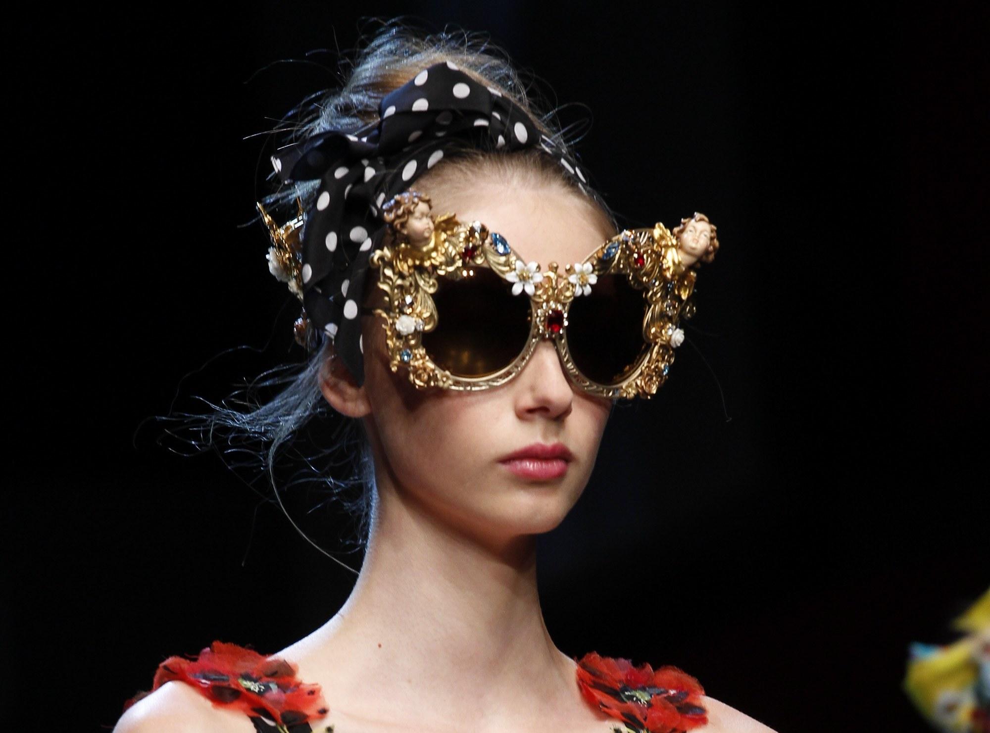 Occhiali oversize Dolce & Gabbana
