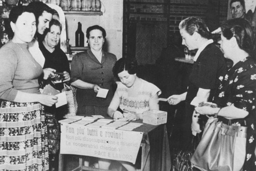 Voto alle donne in Italia 70 anni di storia