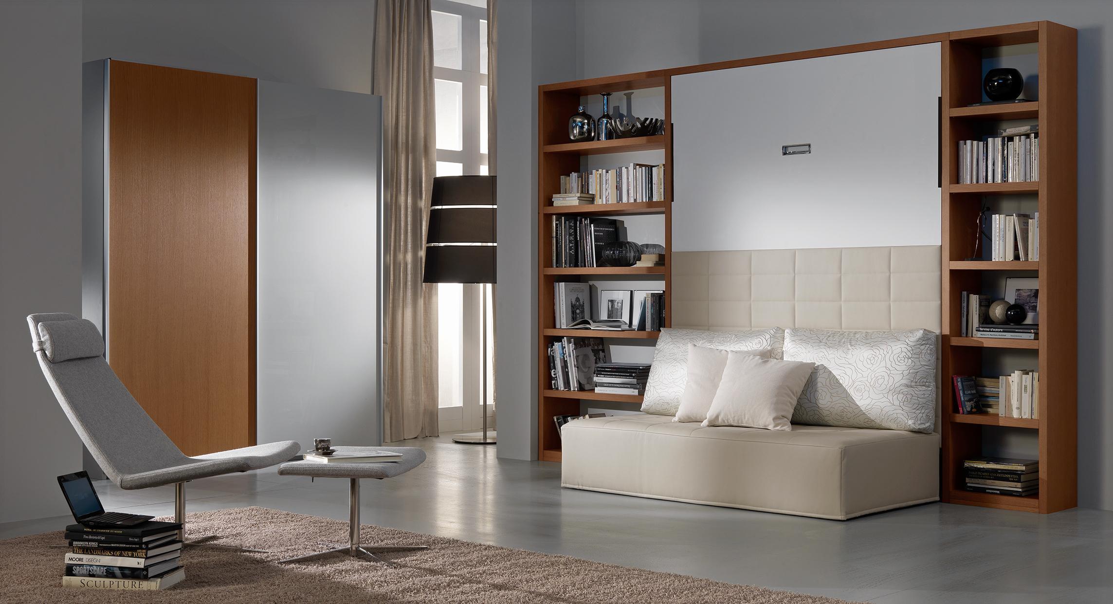 Arredare con i mobili a scomparsa tante idee di design foto pourfemme - Mobili a scomparsa per monolocali ...