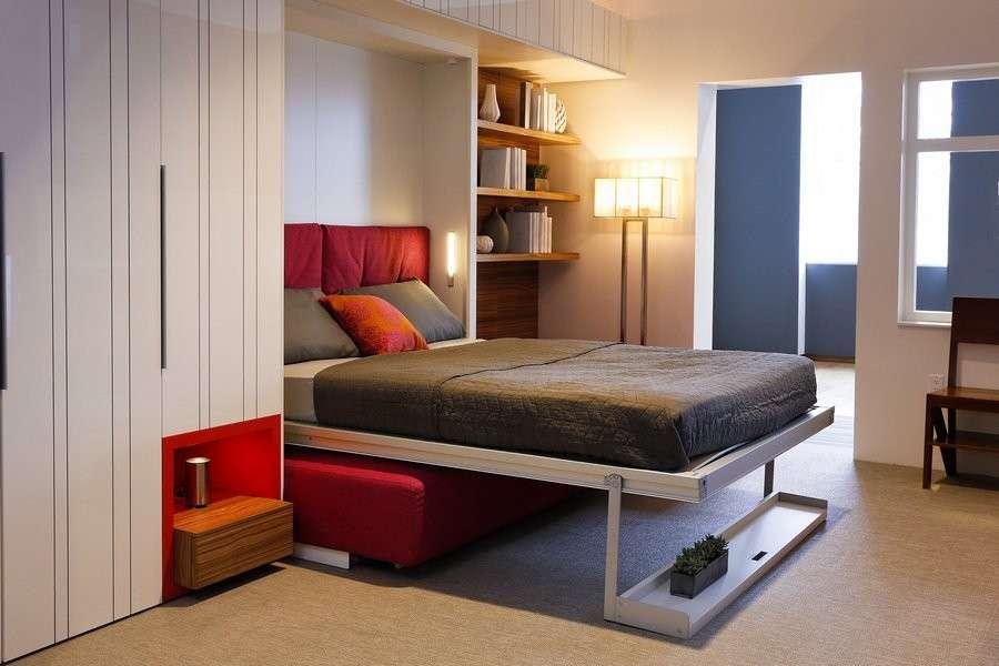 Letti A Muro Salvaspazio : Arredare con i mobili a scomparsa tante idee di design foto