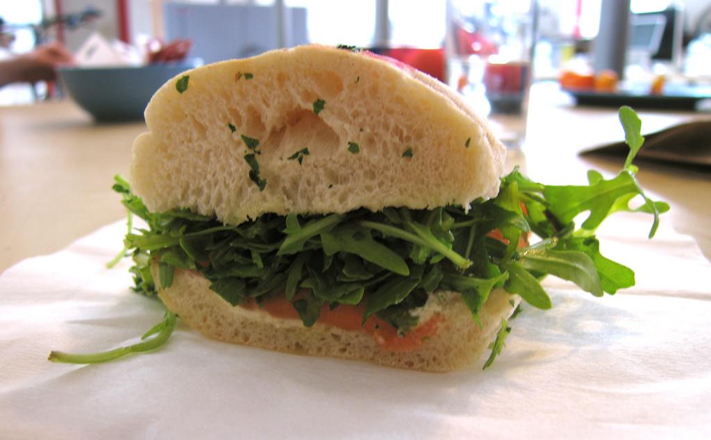panino salmone