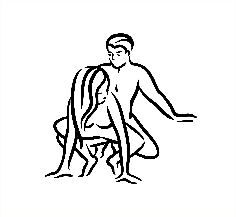 posizione sessuale fare amore in gravidanza da dietro rannicchiata