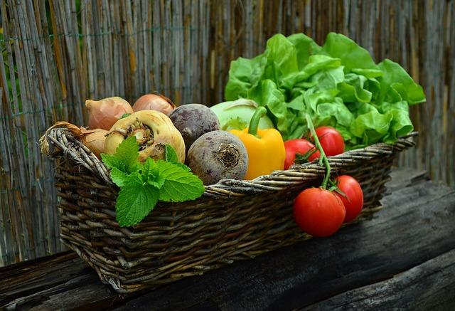 verdura dieta