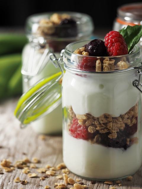 yogurt per spuntino
