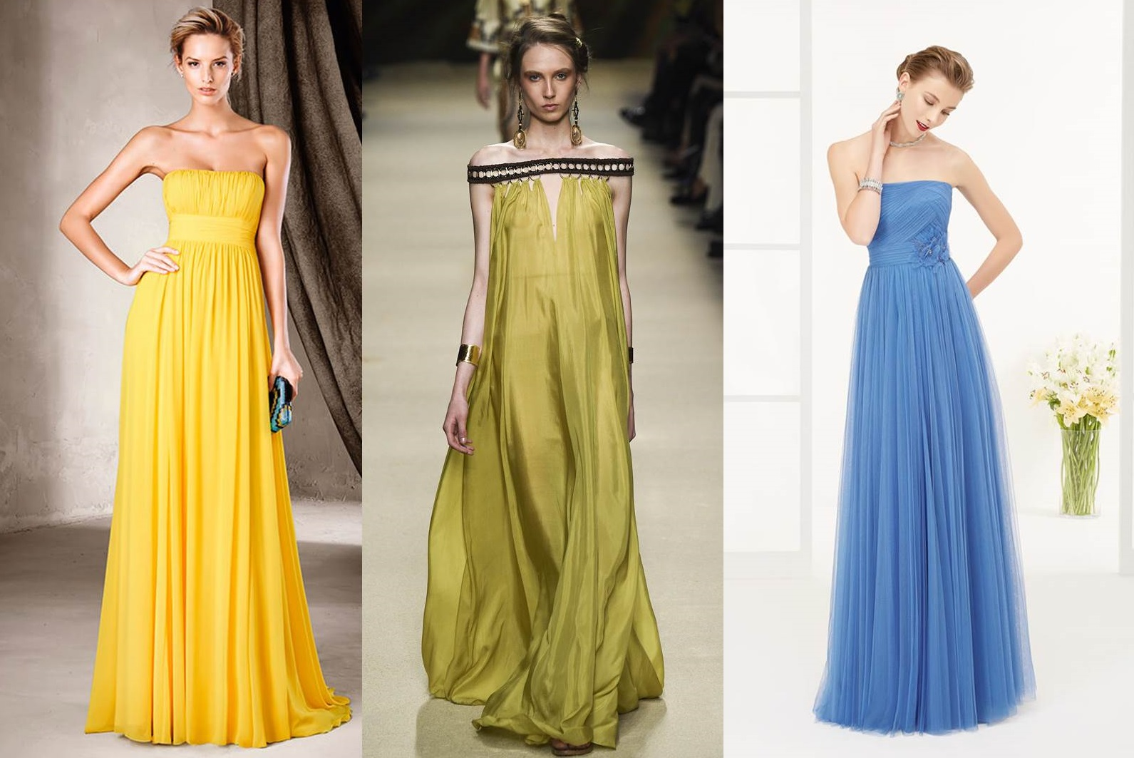 Abiti fashion stile impero