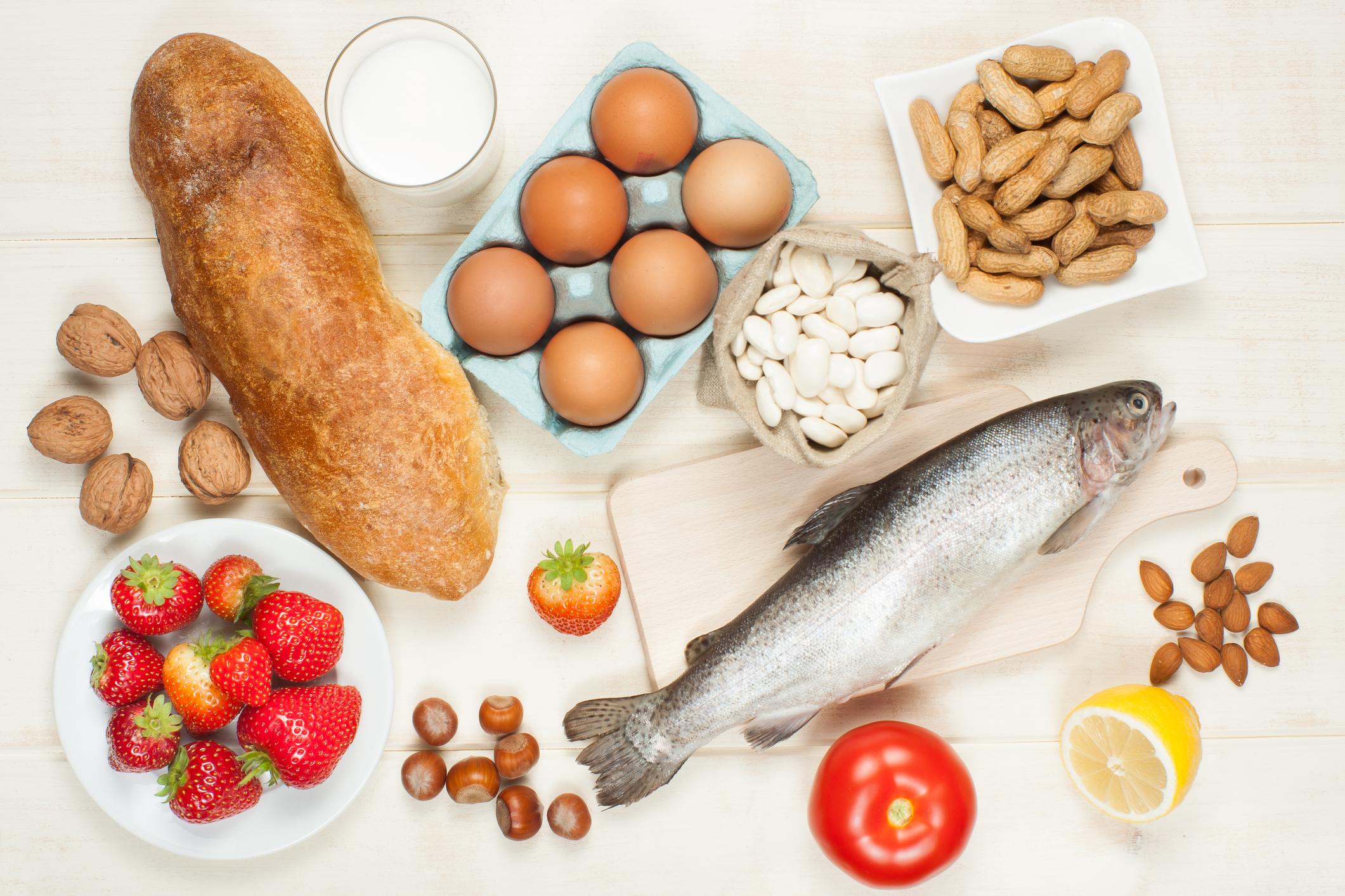 Allergie alimentari: sintomi, test e cure