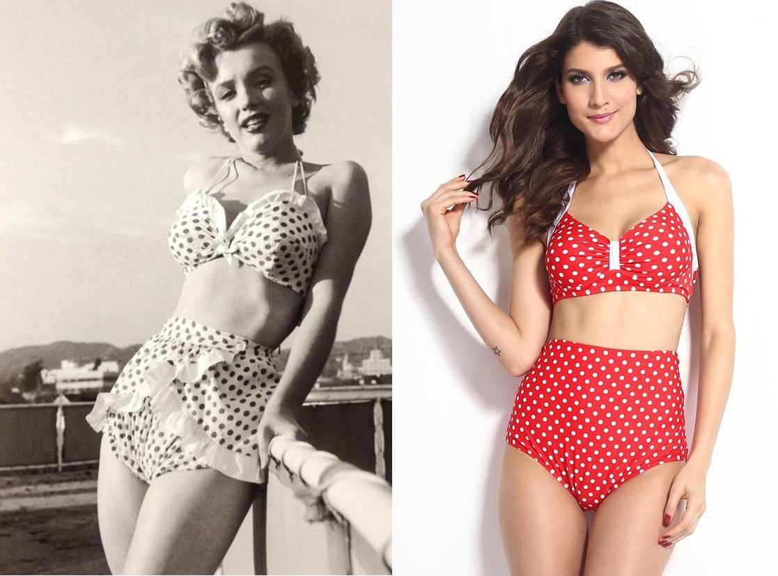 Costume Da Bagno Intero Vintage : Costumi da bagno vintage i modelli più fashion da non perdere