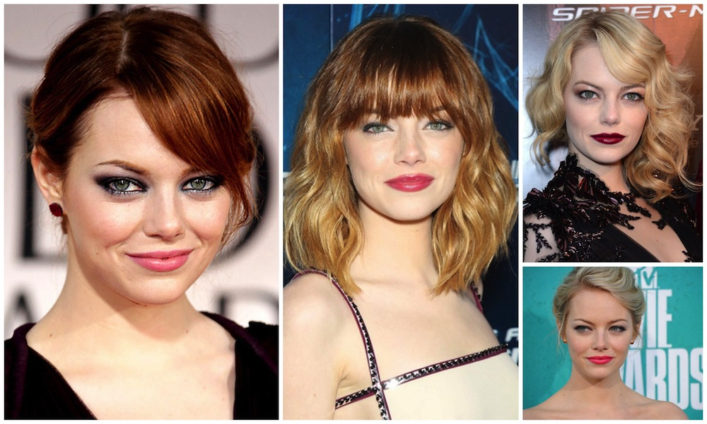 Emma Stone make up