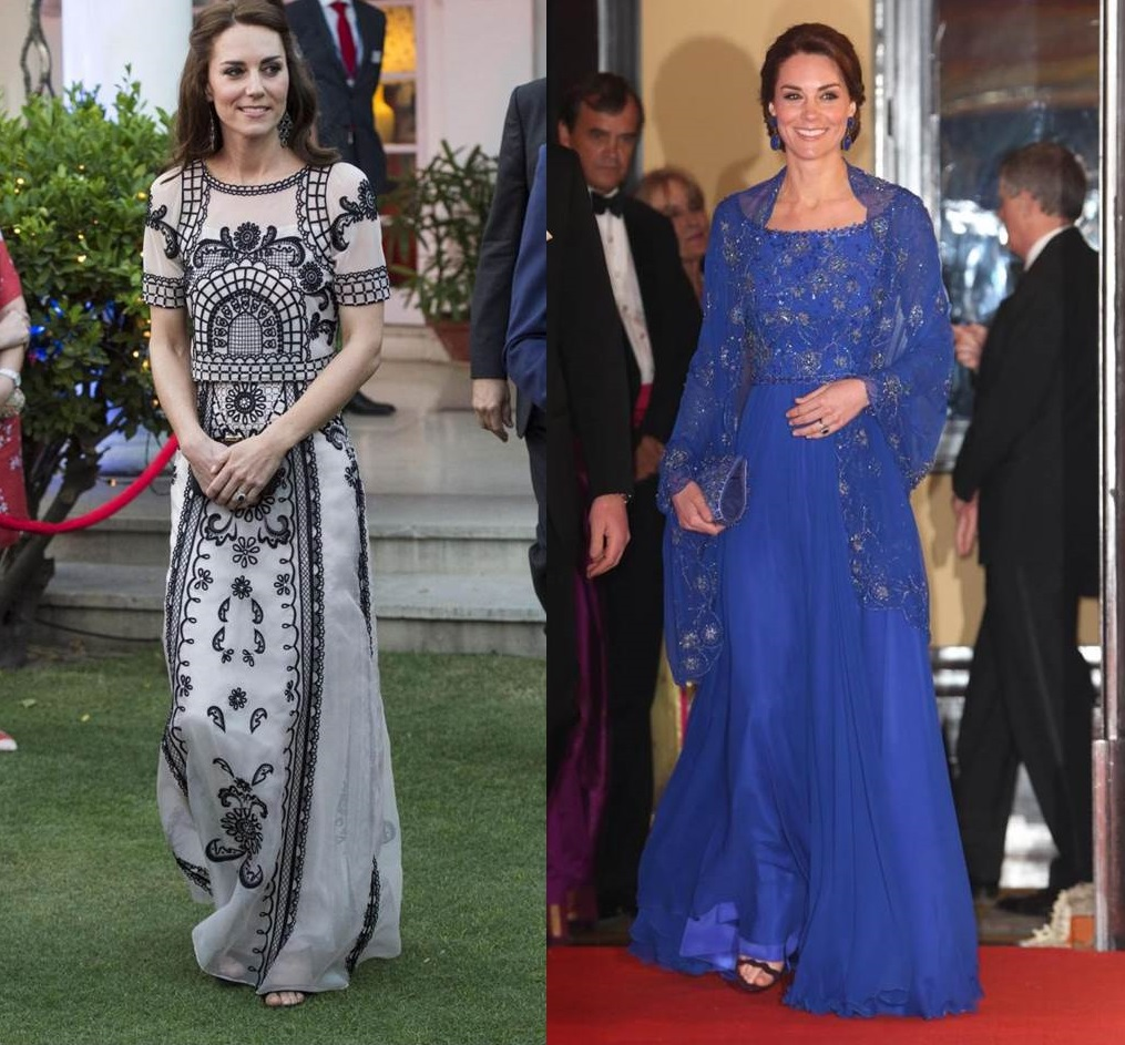 I look da sera di Kate Middleton