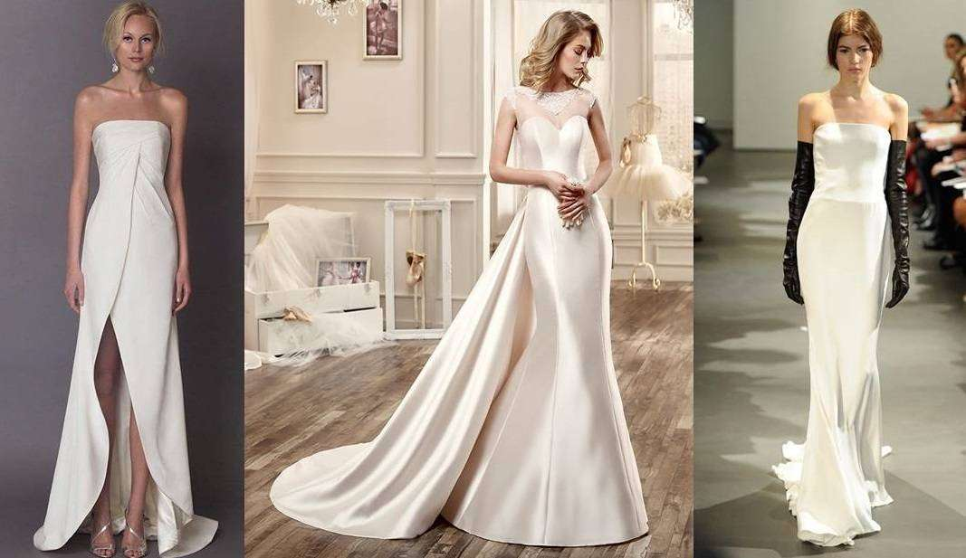 ac443fa63211 Abiti da sposa in seta  i modelli da sogno  FOTO