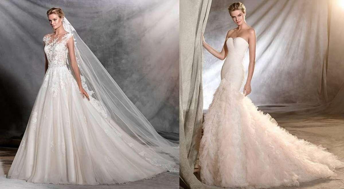 760886cad596 Abiti da sposa Pronovias 2017  la nuova collezione  FOTO