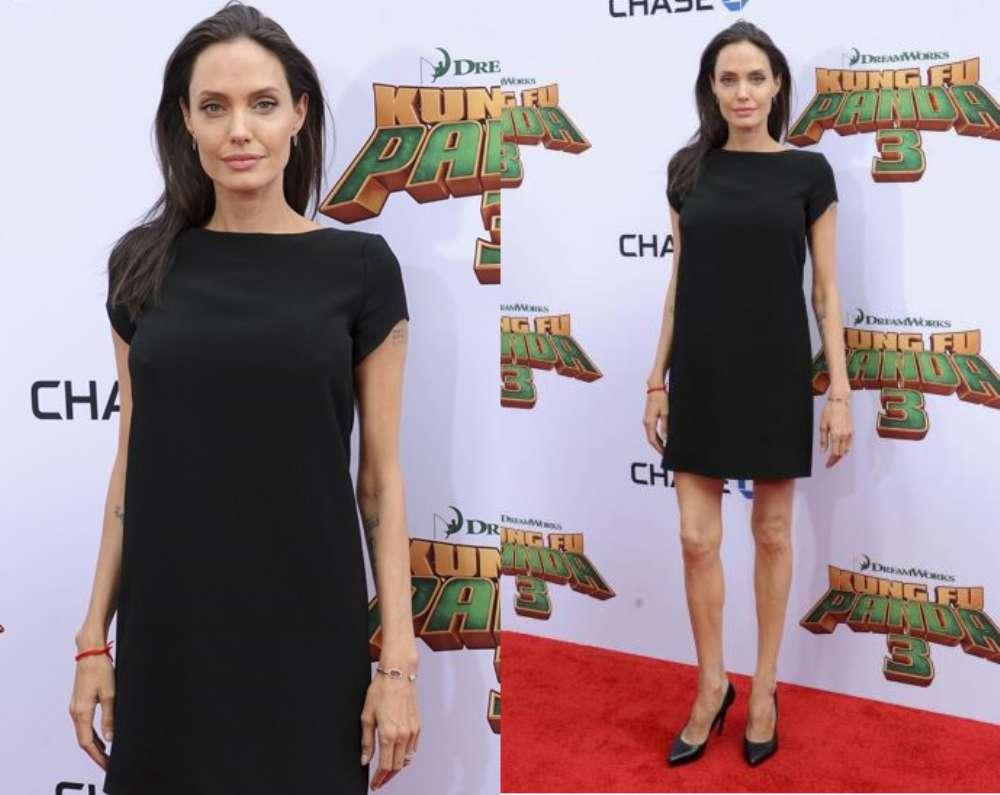 Angelina Jolie anoressica