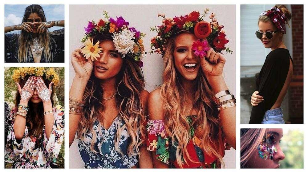 Beauty look da Festival: le idee più glamour in stile Coachella [FOTO]
