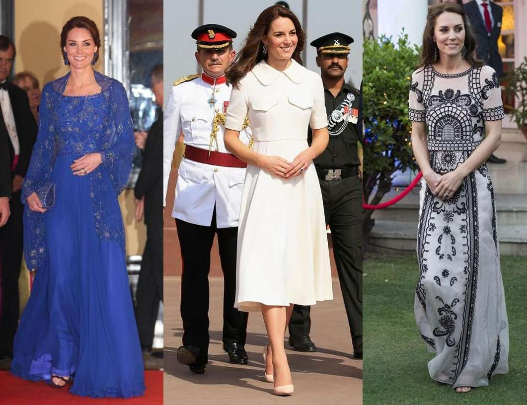 I look di Kate Middleton in India: tra lusso e low cost [FOTO]
