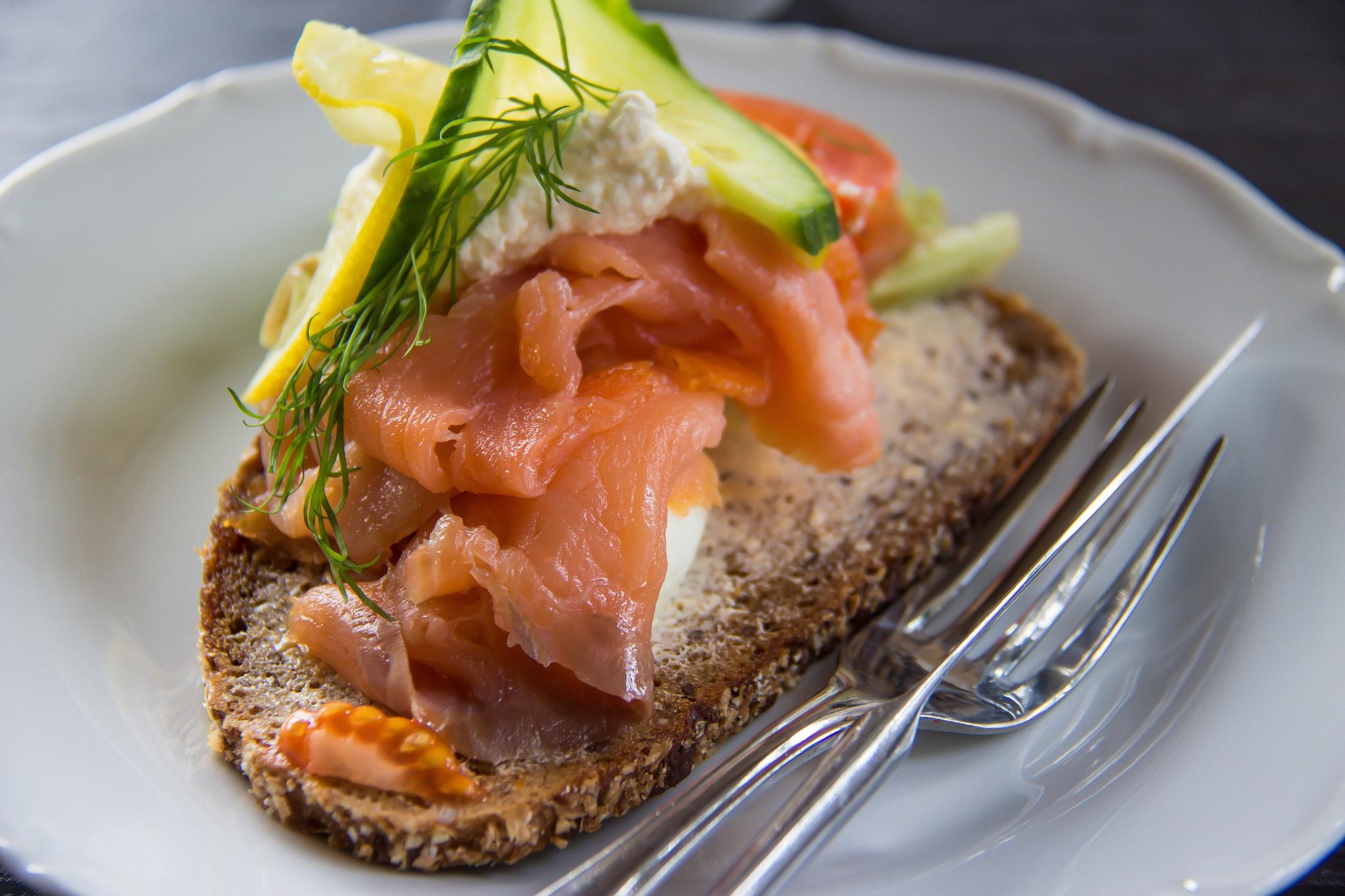 sandwich salmone zucchine