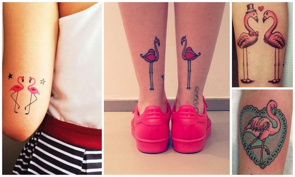 Tatuaggio fenicottero: tutte le idee più belle [FOTO]