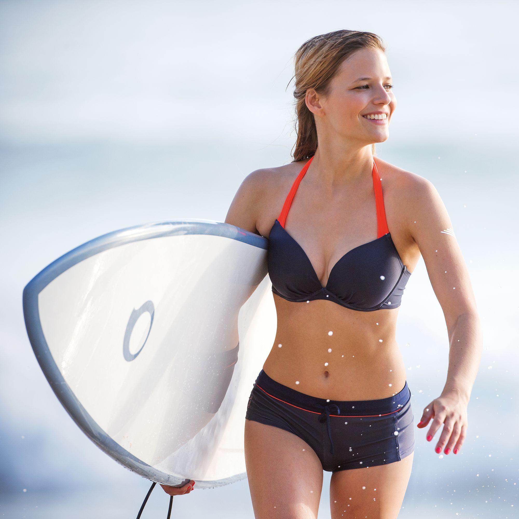 Bikini Decathlon con pantaloncino