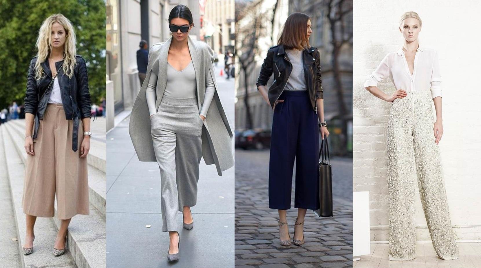 Pantaloni a palazzo  come indossarli e abbinarli  FOTO   e2ffb6521dc9