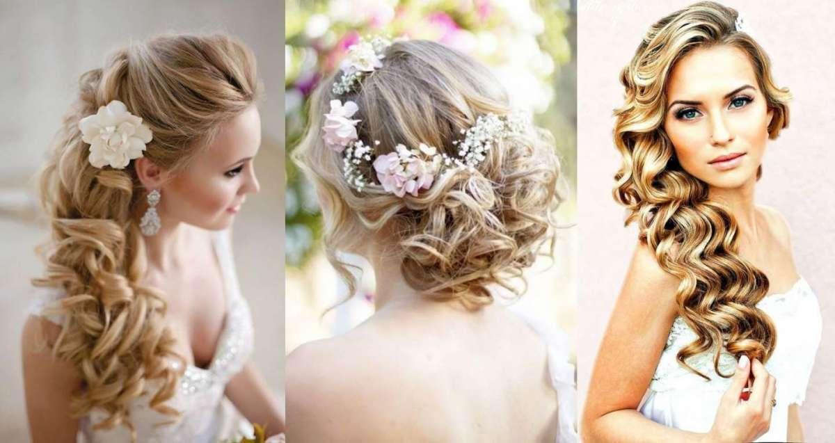 Hair Style Da: Acconciature Da Sposa Con I Boccoli: Gli Hairstyle Più