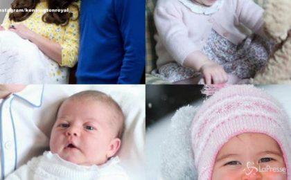Charlotte di Cambridge festeggia un anno, le nuove foto della Royal Girl