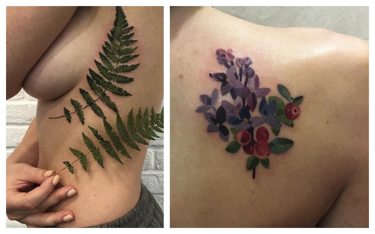 botanical tattoo cosa sono